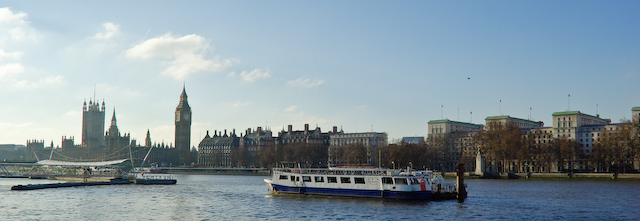 Westminster from South Bank